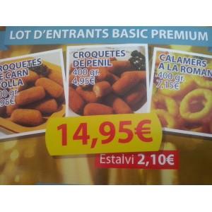 LOT D'ENTRANTS BASIC PREMIUM
