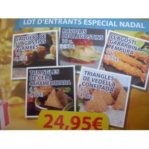 LOT D'ENTRANTS ESPECIAL NADAL