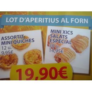 LOT APERITIUS AL FORN