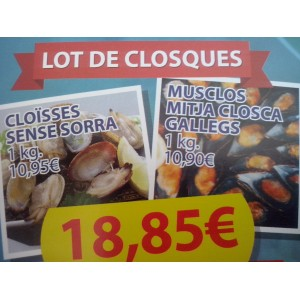 LOT DE CLOSQUES